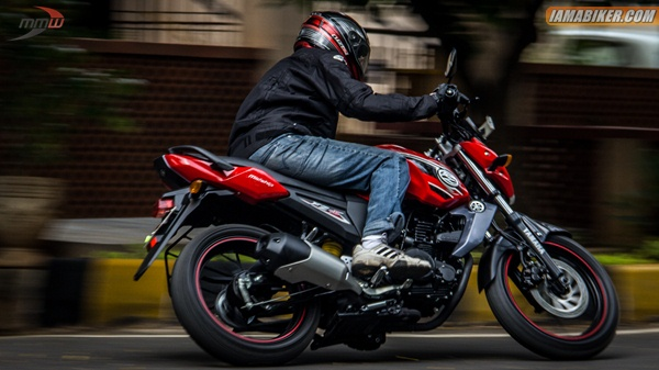 yamaha fz-s review handling
