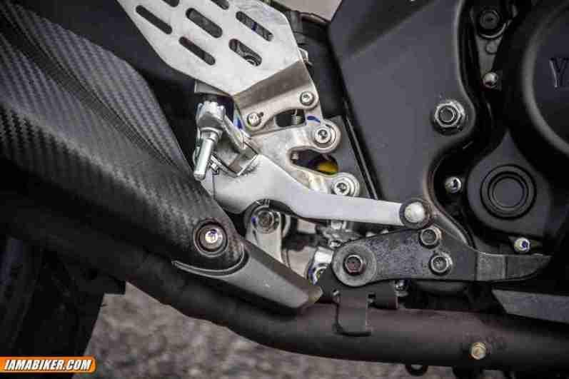 yamaha r15 v2 rear brake pedal