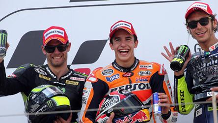 Marquez takes home an easy one