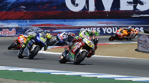 MotoGP 2013 Laguna Seca race analysis