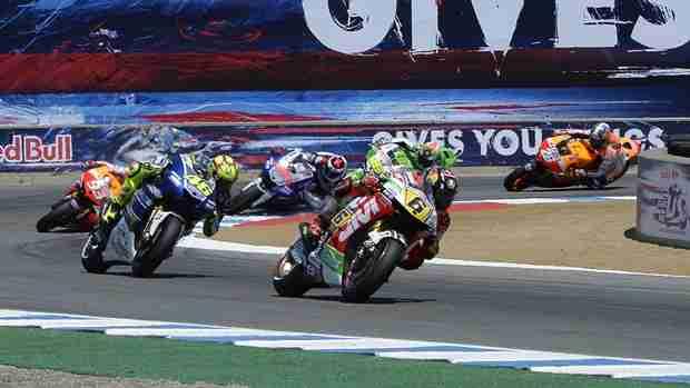 MotoGP 2013 Laguna Seca race analysis