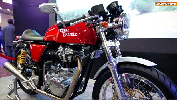 Royal Enfield Continental GT Cafe Racer launch in October