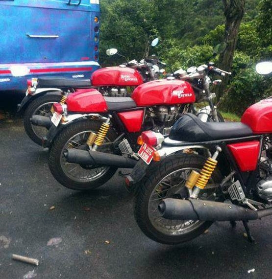 Royal Enfield Continental GT Cafe Racer versions
