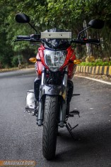 2013 Yamaha FZ-S front view