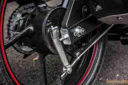 2013 Yamaha FZ-S rear brake