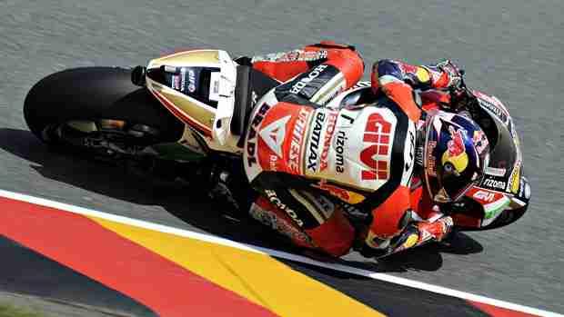 stefan bradl MotoGP 2013 Sachsenring Free practise report