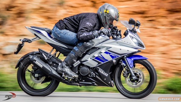 yamaha-yzf r15 performance - top speed - mileage review