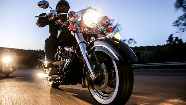2014 indian chief unveiled