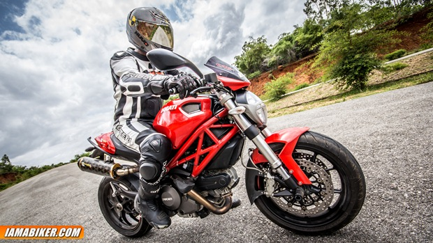 Ducati Monster 796 first ride review
