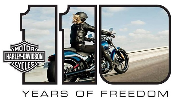 Harley Davidson 110th Anniversary celebrations