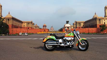 hog india independence day ride