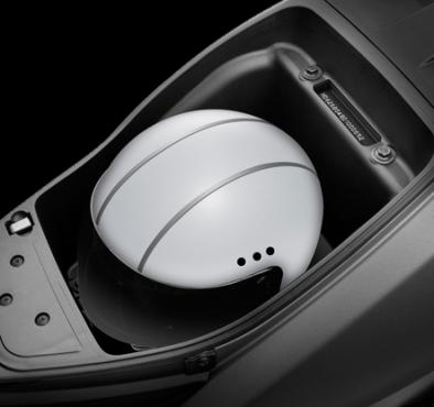 tvs jupiter under-seat-storage