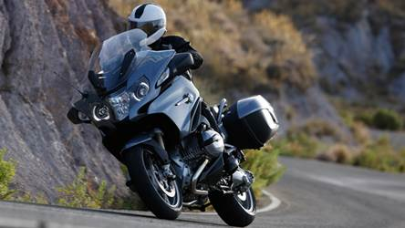 new BMW R1200RT unveiled