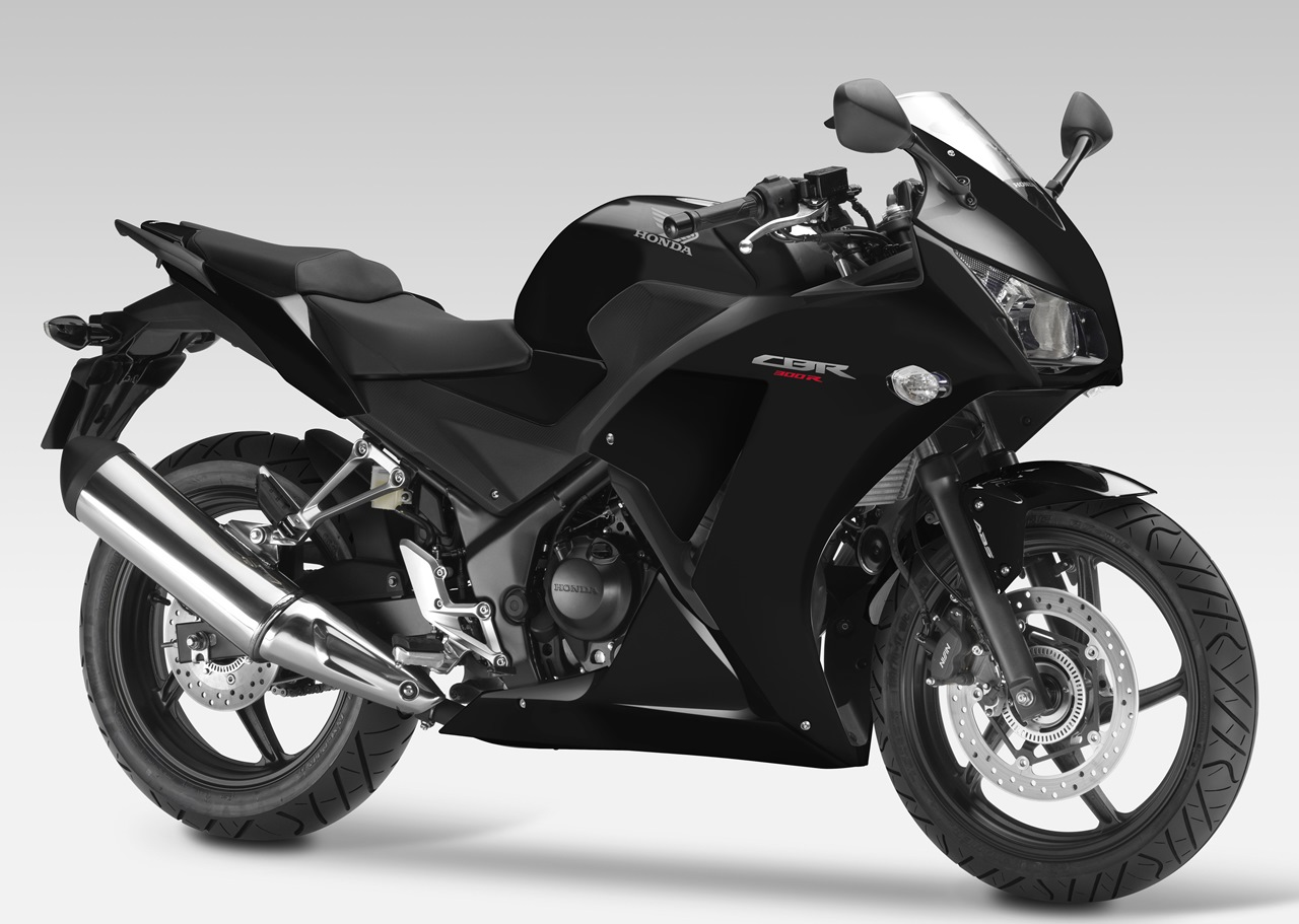 new honda cbr300r black