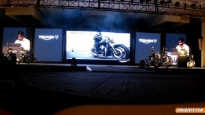 Triumph Motorcycles India launch presentation