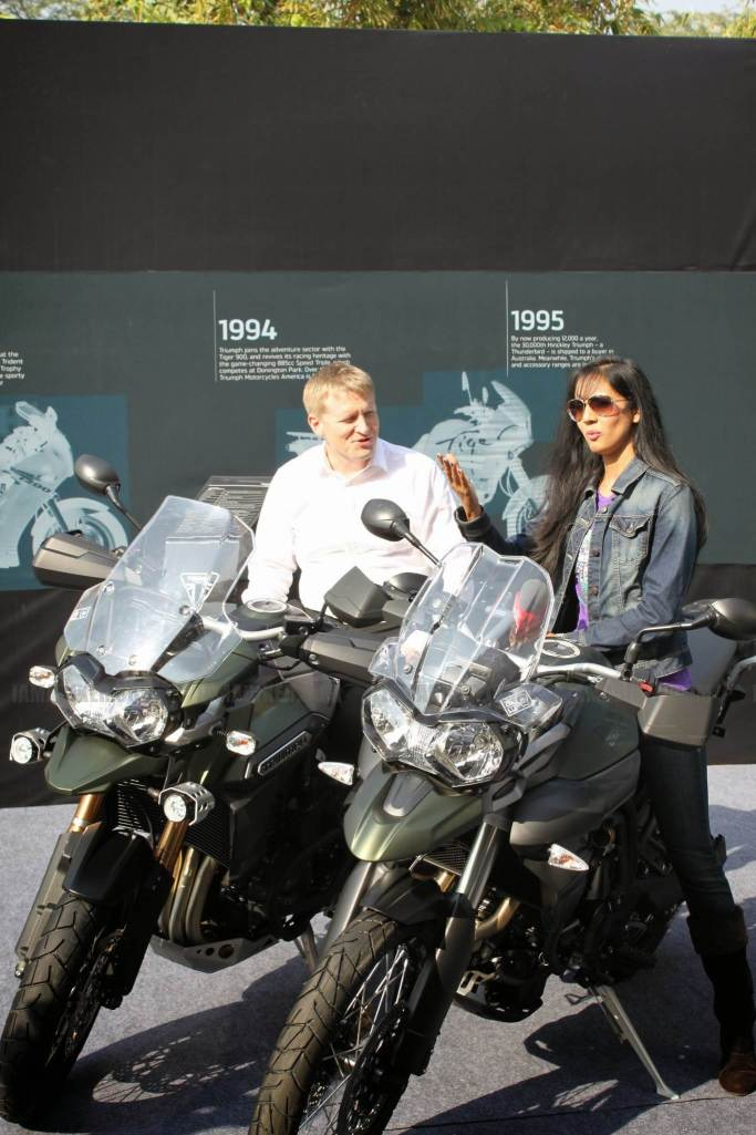 triumph motorcycles india launch - 91