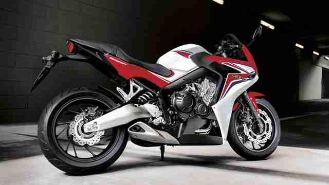 Honda CBR650F Auto Expo 2014