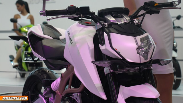 TVS Draken X21 concept auto expo 2014
