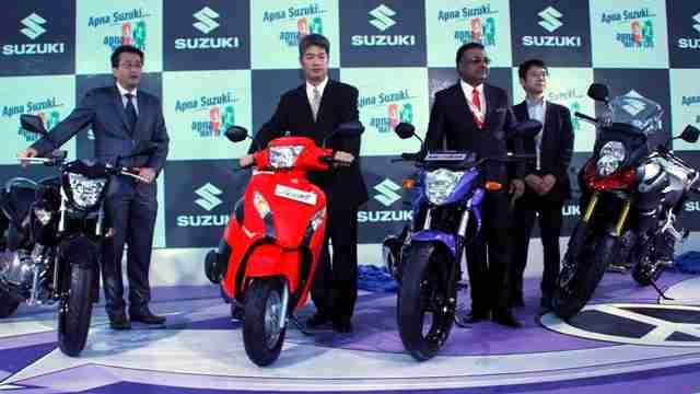 auto expo 2014 - suzuki v-strom 1000 india