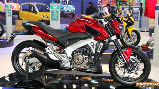 pulsar cs400 side view