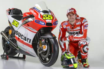 Cal Crutchlow on his Ducati GP14