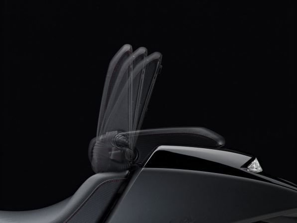 2014 Honda NM4 Vultus backrest