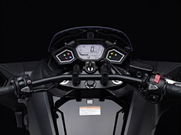2014 Honda NM4 Vultus cockpit