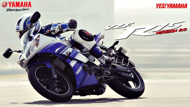 2014 Yamaha YZF-R15 colours and prices