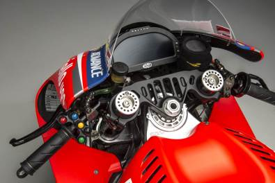 Ducati GP14 cockpit