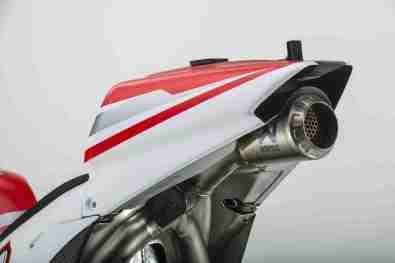 Ducati GP14 exhaust tail