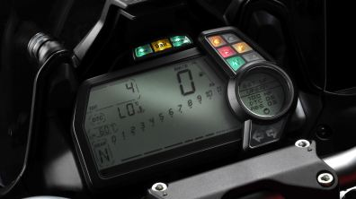 Ducati Multistrada D-Air on console