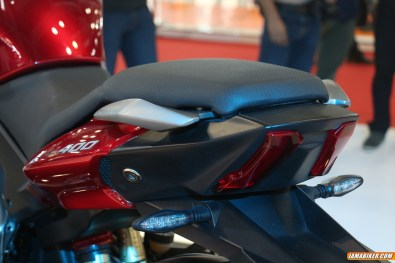 New Pulsar CS400 tail light