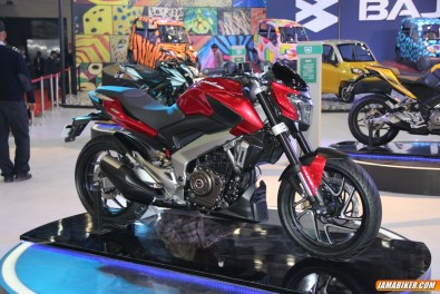 New Pulsar CS400 side view