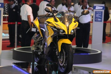 New Pulsar SS400 front view