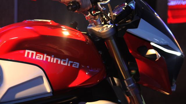 New Mahindra bike