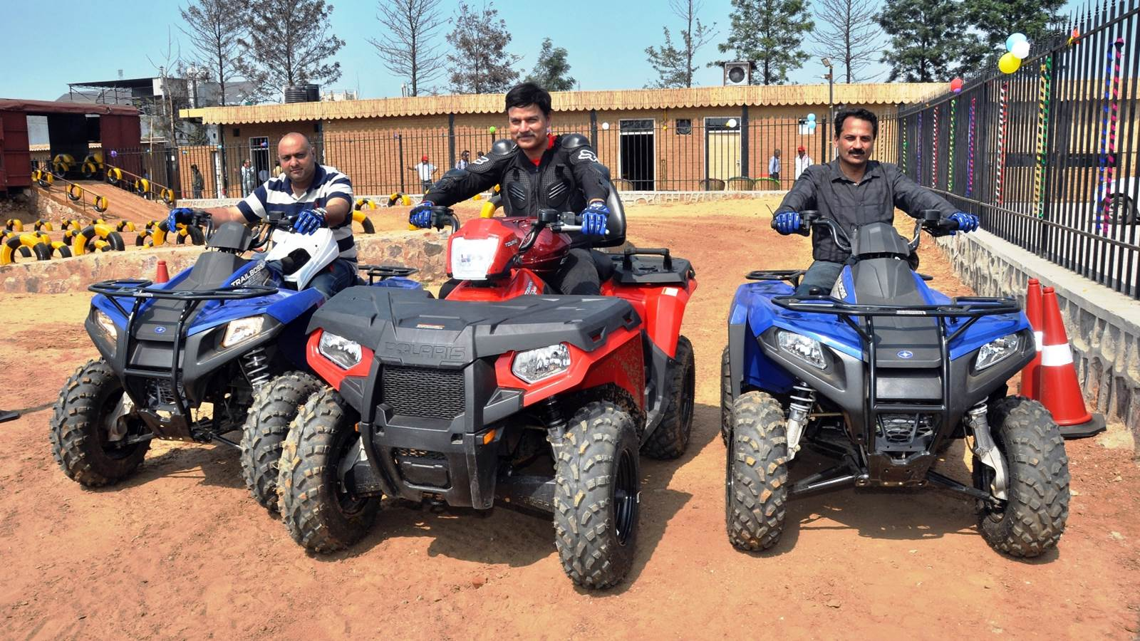 Polaris India inaugurates Experience Zone in Dharuhera Haryana