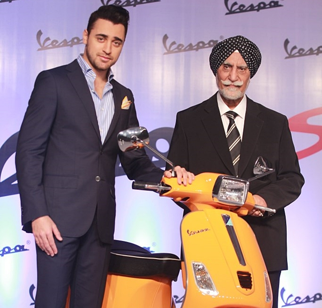 Vespa S for India launched at a price of Rs. 75424