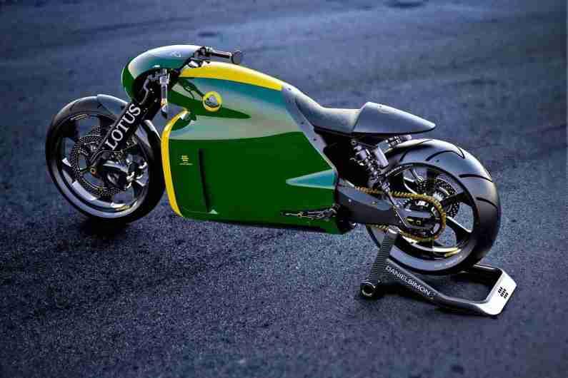 Lotus C-01 Green
