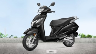 honda activa 125 colour - black