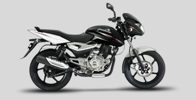 New Bajaj Pulsar 150/180 colours - Platinum Silver / Metallic white