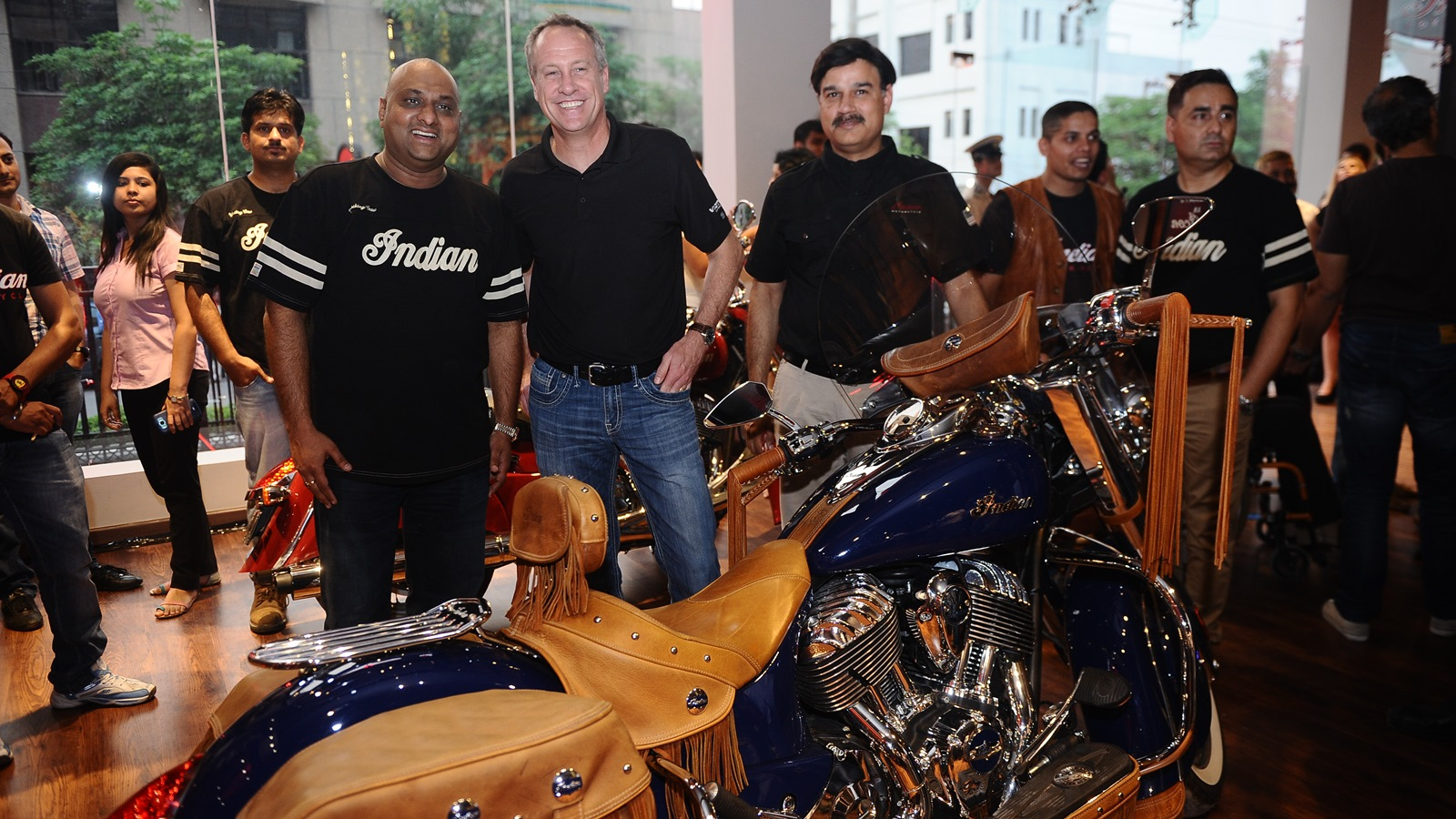 indian motorcycles opens first showroom in gurgaon