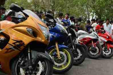 YRC - Yamaha Riders Club Bangalore India - 05