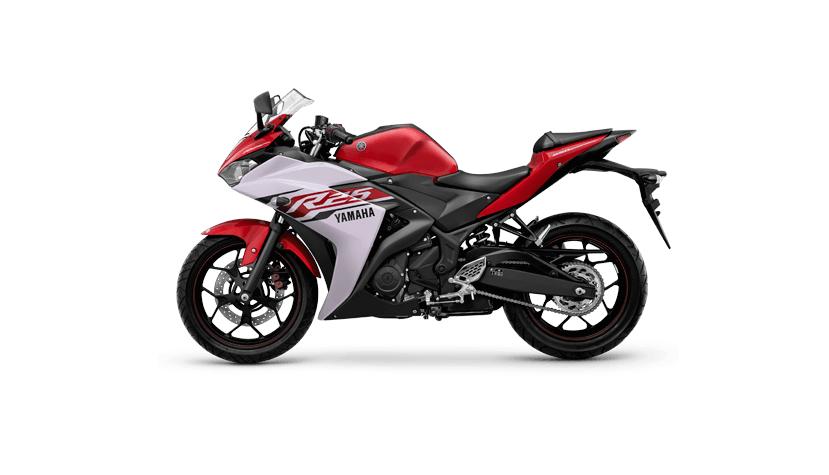 Yamaha YZF-R25 colour - Diablo Red