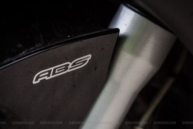 Aprilia SRV 850 ABS badge