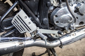 Continental GT - rear disc lever
