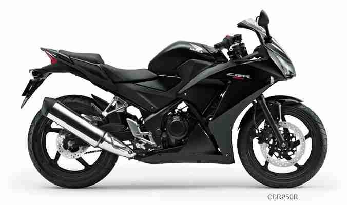 New Honda CBR 250R colour - black