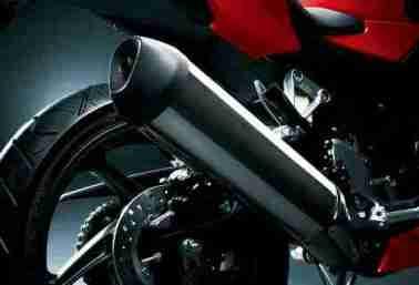New Honda CBR 250R chrome silencer