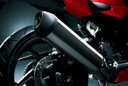 New Honda CBR 250R chrome silencer