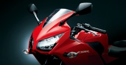 New Honda CBR 250R headlights