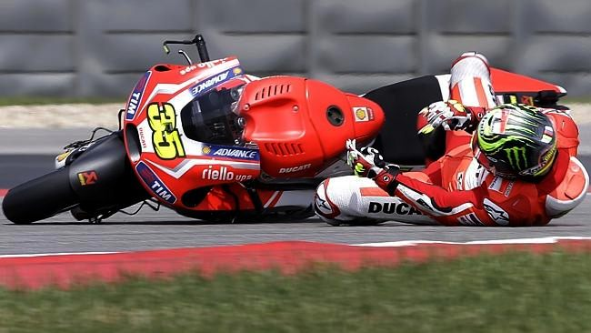 Cal Crutchlow - Ducati part ways